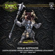 Gorag Rotteneye  Legion  (resin/metal)